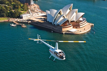 25 Minute Sydney Icons Scenic Helicopter Flight - Scenic Flights