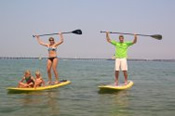 Stand Up Paddle Board Group Lesson - Surf & Kite Surfing
