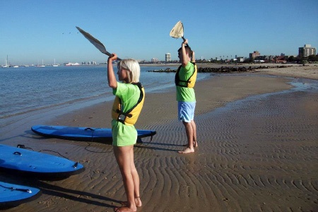 Stand Up Paddle Boarding Private Lesson in St Kilda - St Kilda