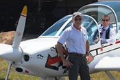 Flying Lesson In A Light Aircraft