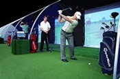 Indoor Golf Lessons With A Professional -