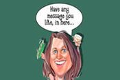 Custom Cartoon Caricature - By Email -