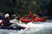White Water Kayaking and Abseiling Day Tour -
