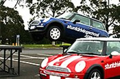 Stunt Driving In A Mini Cooper -