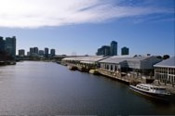 1 Hour Ports and Docklands Down River Cruise - Melbourne CBD