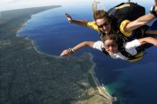 Harley Ride, Skydiving, Fine Dining Adventure For Two -