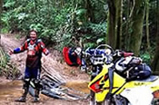 1 Day Motorcycle Adventure Rainforest Tour -