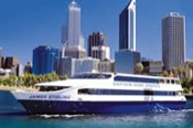 Swan River Scenic Cruise between Perth and Fremantle -