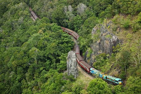 Kuranda, Scenic Rail, Rainforestation and Skyrail Including Lunch - Trains