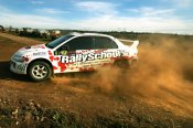 Two Car Rally Blast 16 Lap Experience in NSW - Rally Driving