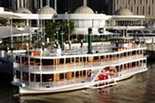Christmas Day Luncheon Cruise on the Brisbane River -