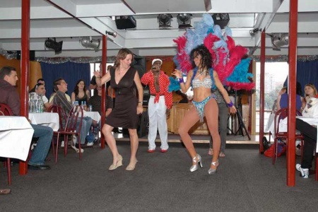 Comedy Salsa Dinner Cruise on Sydney Harbour -