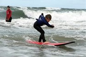 Surf Lessons at Seaford -