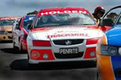 V8 Ute Race Car Hot Laps -