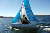 Beginner Dinghy Sailing Lesson -