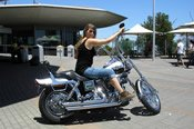 One Hour Harley Davidson Motorcycle Cruise from Adelaide -