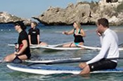 Stand Up Paddle Lesson at Shoalwater Bay -