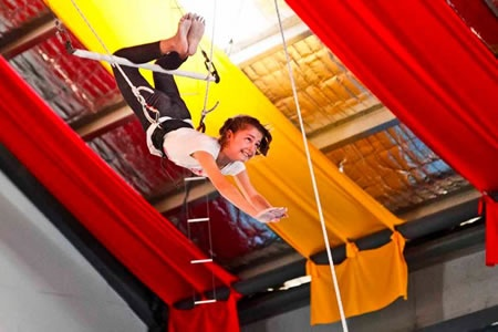 Circus Skills Flying Trapeze Course -