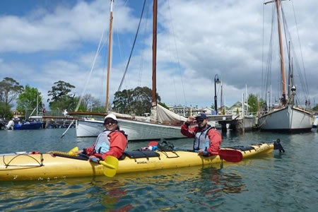 Half Day Williamstown Sea Kayak Tour -