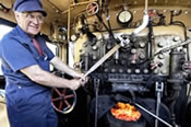 Steam Train Driver Experience