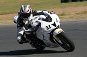 Motorcycle Track Day on a  Honda CBR600RR -