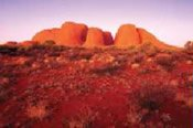 Kata Tjuta (the Olgas) Valley of the Winds -