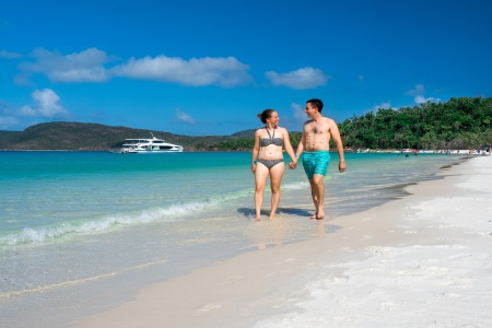 Whitehaven Beach and Hamilton Island Full Day Cruise