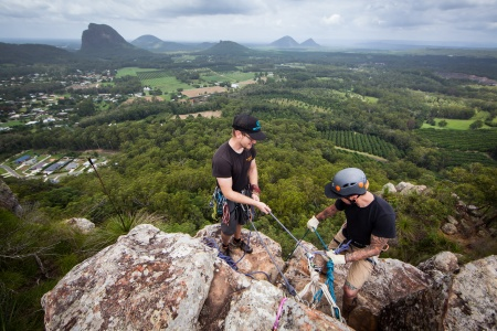 Glasshouse Mountains Abseiling Adventure