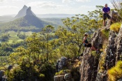 Glasshouse Mountains Abseiling Adventure - Rock Climbing & Abseiling