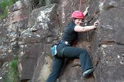 Glasshouse Mountain Rock Climbing -