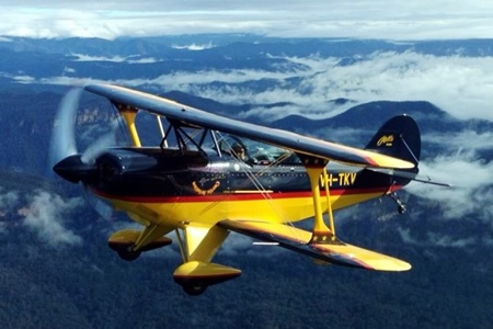 Aerobatic Joy Flight in a Pitts Special - Learn To Fly