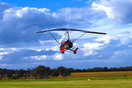 30 Minute Trial Microlight Flight over Barwon Heads -