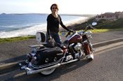 One and Half Hour Metro Beaches Adelaide City Harley Davidson Motorcycle Cruise -