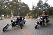 Two and Half Hour McLaren Vale Harley Davidson Motorcycle Cruise from Adelaide City -