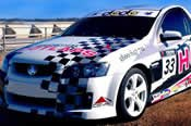 V8 Ute Race Car Drive plus Hot Laps -