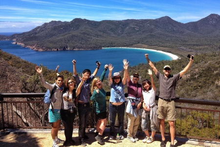 Wineglass Bay and Freycinet National Park
