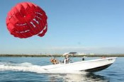Parasailing, Jet Ski and Jet Boat Ride for Two -