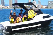 Half Cabin Boat Hire (no boat licence required) -
