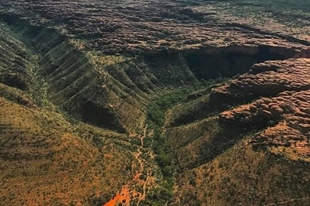 Uluru, Kata Tjuta, Lake Amadeus, Kings Canyon 2 Hour Scenic Flight