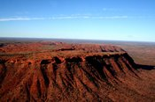 Uluru, Kata Tjuta, Lake Amadeus, Kings Canyon 2 Hour Scenic Flight -