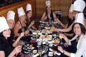 Hands on Japanese Sushi Samurai Cooking Class - Adelaide