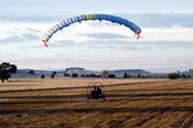 Trial Instructional Aerochute Flight -