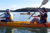 Double Kayak Hire at Bundeena -