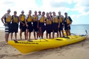 Sea Kayaking Team Building Circuit -