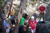 Abseiling Adventure at Eagle Rock -
