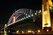 See Sydney By Night Motorcycle Tour -