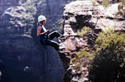Mini Jump Abseiling Adventure in the Blue Mountains  -