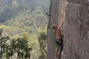 Full Day Private Rock Climbing Session -