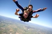 Ground Rush Tandem Skydive over the Yarra Valley -
