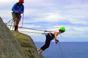 Forward Running Abseiling -